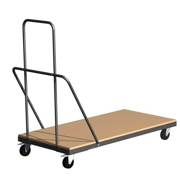Chariot universel pour tables rectangulaires