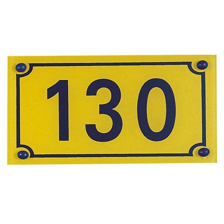 Numéros de rue Harmonicolor
