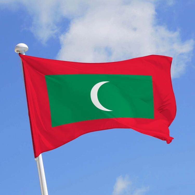 Drapeau Maldives