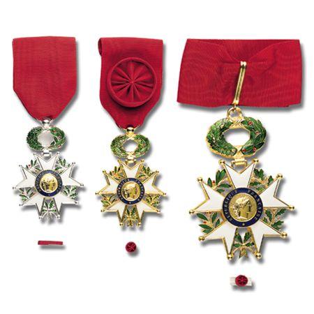 Médailles de l'Ordre National de la Légion d'Honneur