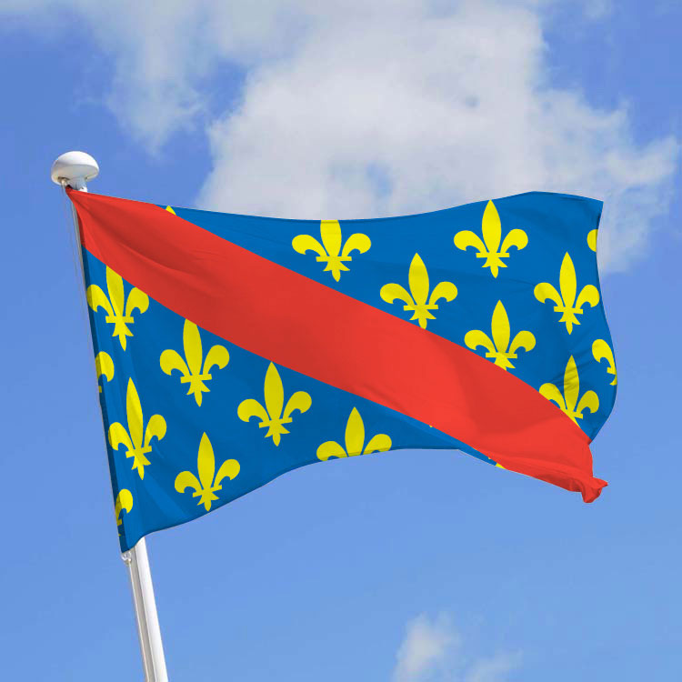 Drapeau province Bourbonnais