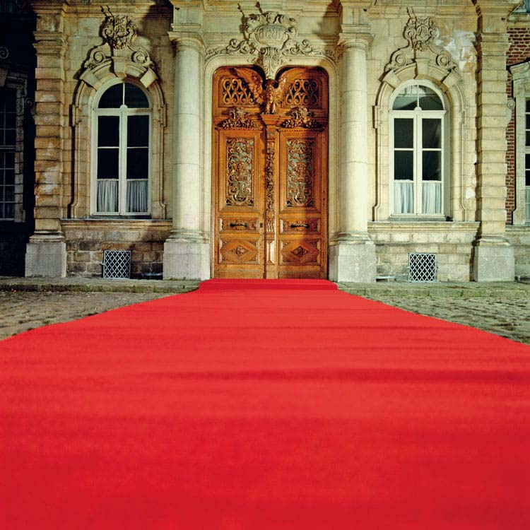 Tapis rouge de cérémonie