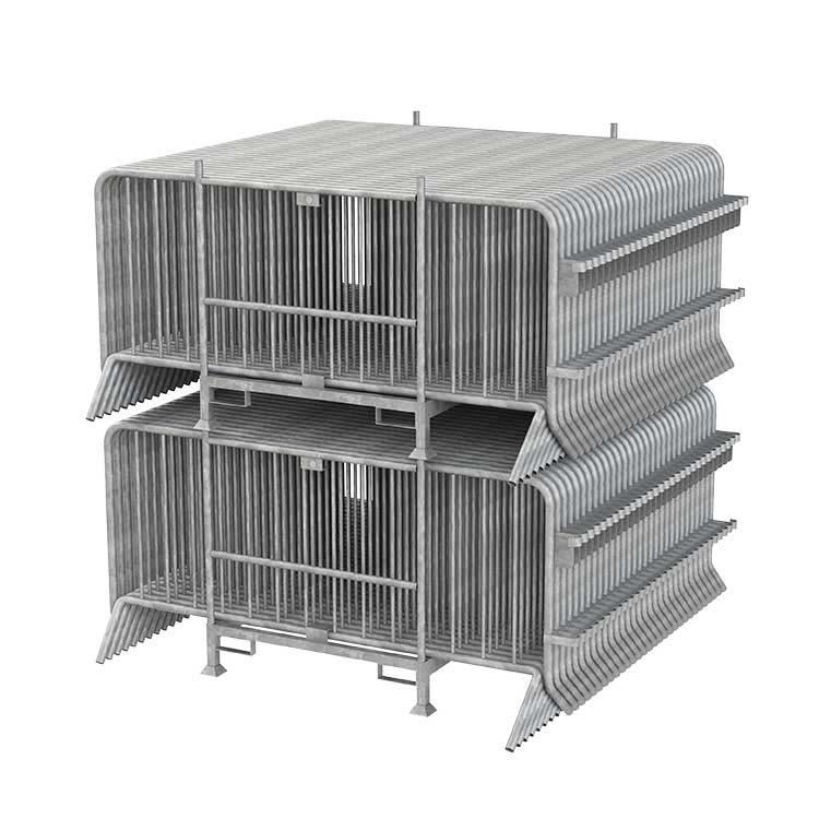 Rack de stockage de barrières
