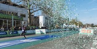 Notre prestation lors du 40ème Marathon de Paris