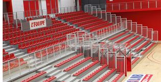 Doublet équipe le Palais des sports Saint-Sauveur de Lille