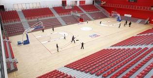 2/2 Vue 360 de notre installation au Palais des sports Saint-Sauveur de Lille