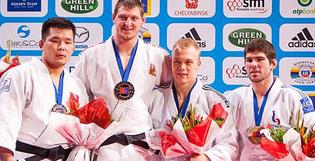 Doublet habille le Palais Omnisports de Bercy pour le Grand Slam de Judo à Paris