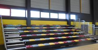 Doublet équipe le plus grand complexe sportif de Poitiers