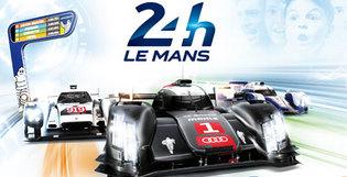Habillage du village et du paddock des 24 heures du Mans