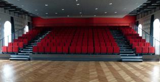 Une Halle au Blé réhabilitée en salle de spectacle