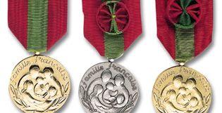 Modalités d'attribution de la Médaille de la Famille française