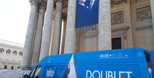 Expo de plein air au Panthéon : Doublet confirme son savoir-faire technique