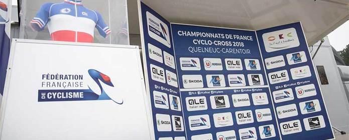 Collaboration avec la Fédération Française de Cyclisme