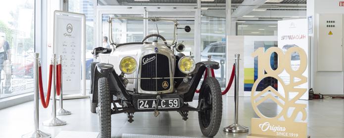 Doublet: un expert «chevronné» pour le Centenaire de Citroën