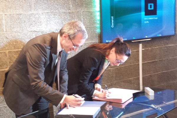 Signature convention Doublet et SITA