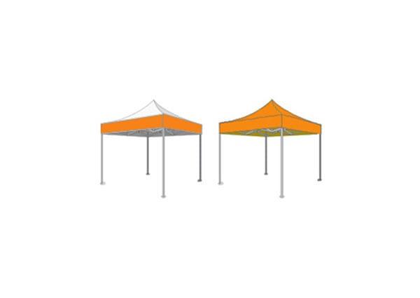 types de personnalisation de tente