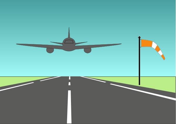 Manche à air d'aéroport
