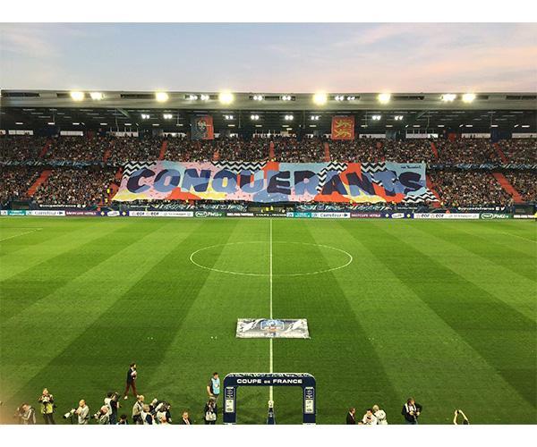 TIFO Coupe de France 2018