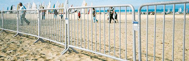 Barrières de sécurité