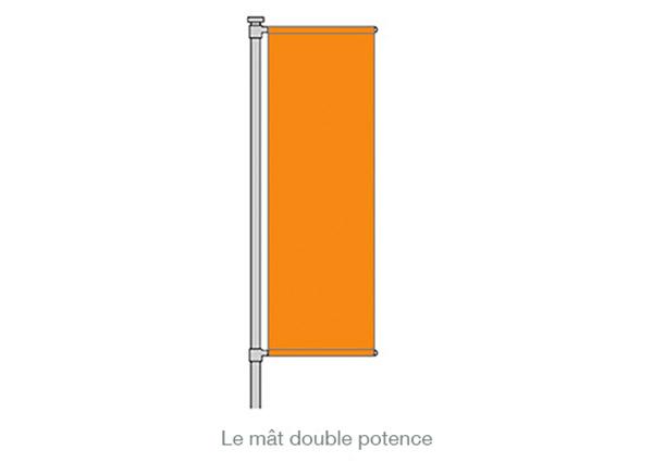 mât double potence