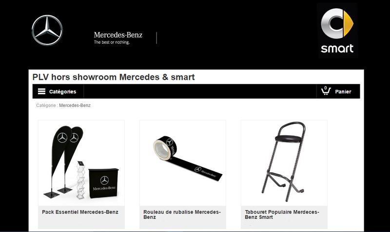 e-boutique Mercedes
