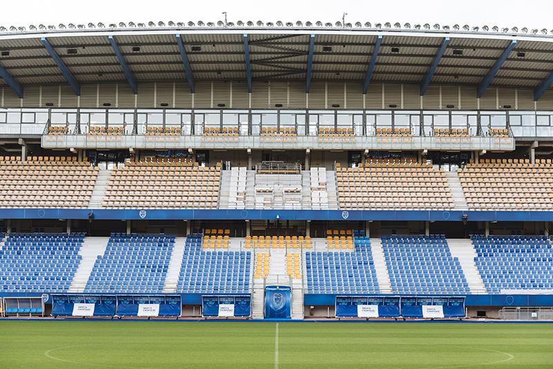 Habillage Stade de l'Estac