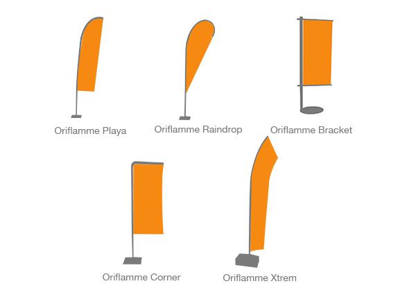 types oriflamme