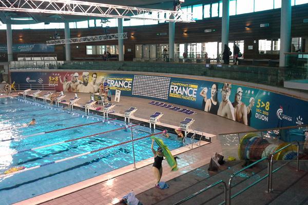 Réalisation Doublet sur les Championnats de France 25 mètres de natation