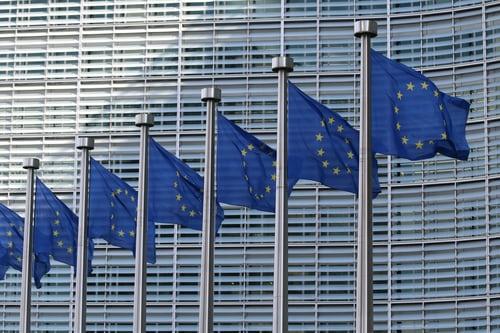 drapeaux européens / bannière étoilée