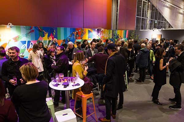 DOUBLET à la foire d'art contemporain de Lille
