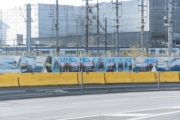palissades chantiers SPL euralille Doublet