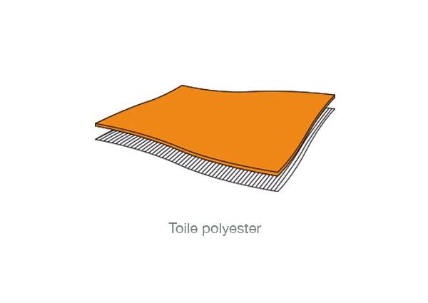 Toile polyeste