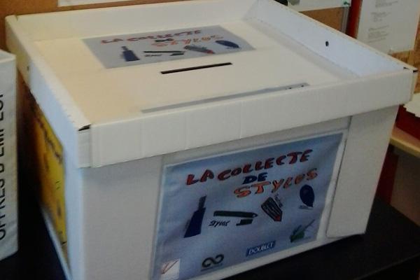 Urne carton Doublet pour une opération de recyclage