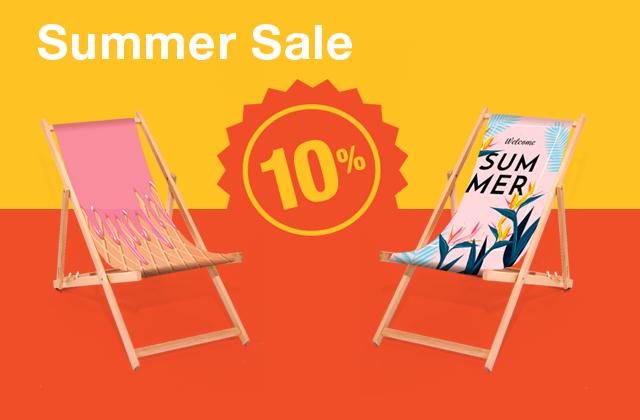 Summer Sale Liegestühle