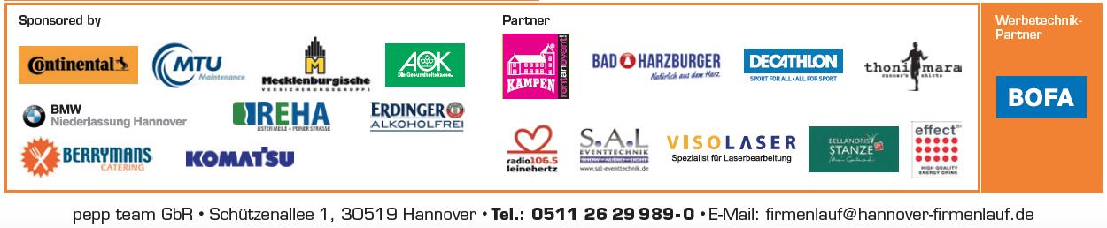 Firmenlauf Hannover