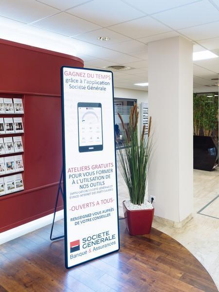 Kakémono Digital Société Générale