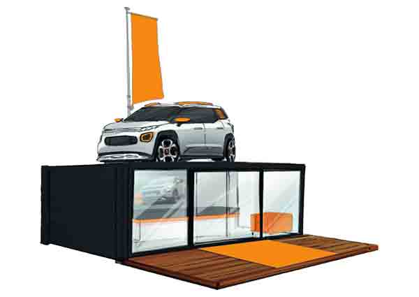 container espace automobile