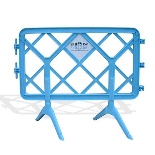 Barrière de protection Robusta bleue de petite taille