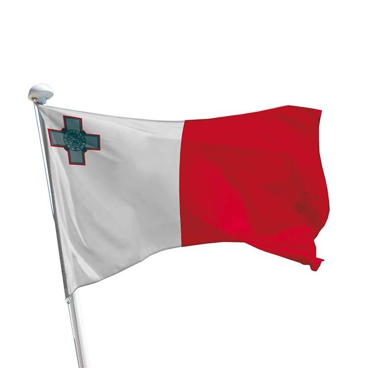 Drapeau Malte pour mât
