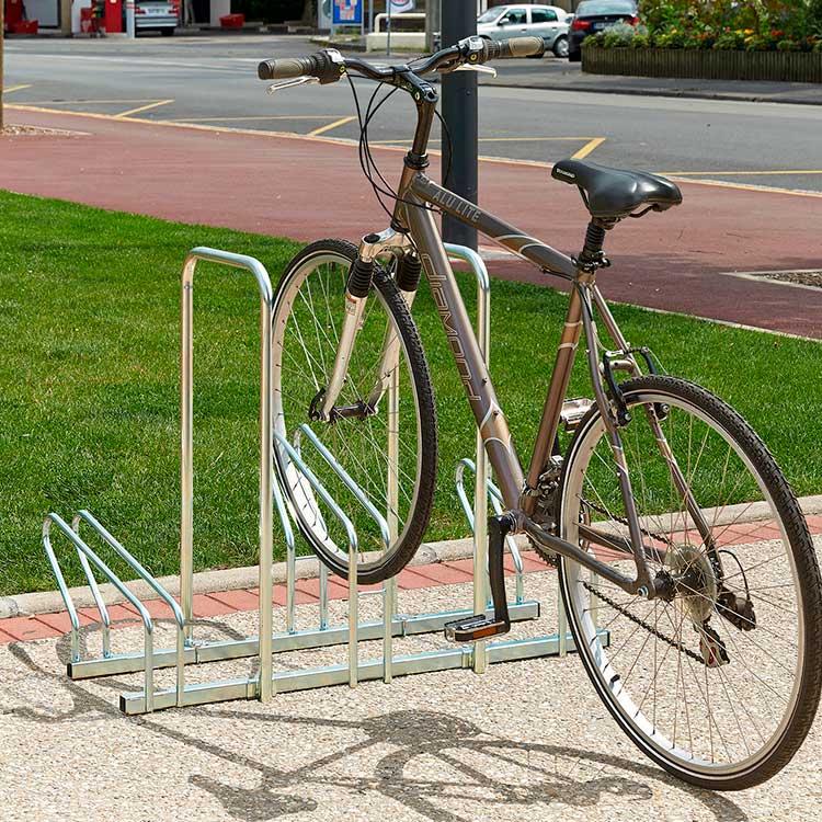 Rack à vélo Sydney 3 cycles arceau et cycle