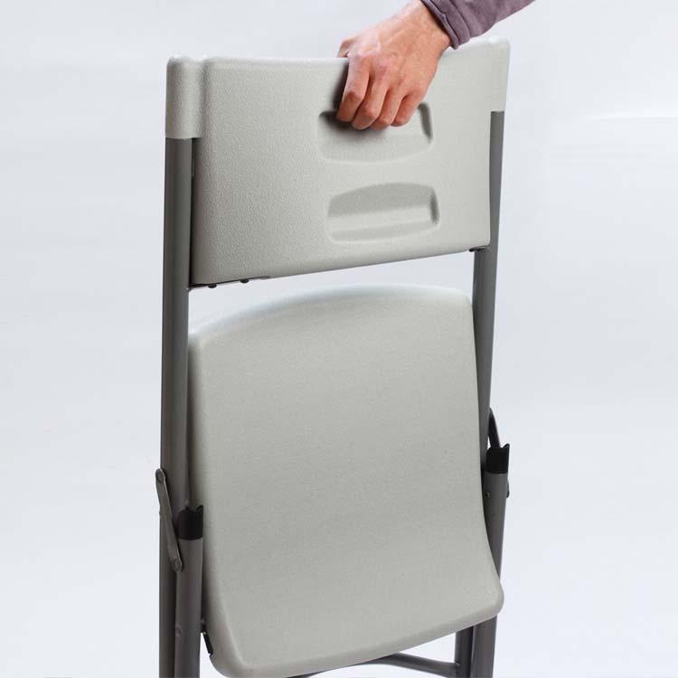 Chaise pliée