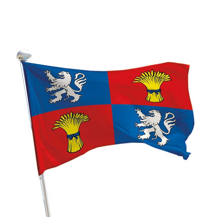 Drapeau province Gascogne pour mât