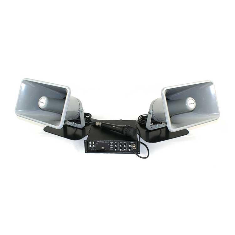 Sonorisation véhicule 2 hauts parleurs 80W