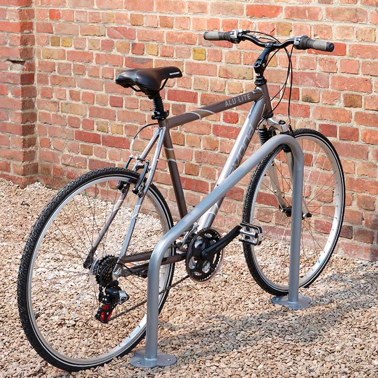 Lot de 2 arceaux simple vélos triange