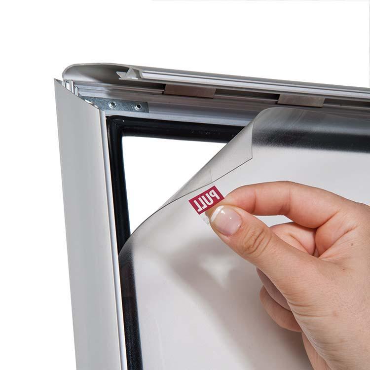 Feuille de protection du porte affiche extérieur weatherproof