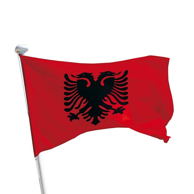 Drapeau Albanie pour mât