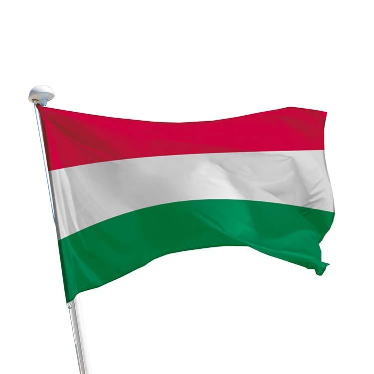 Drapeau Hongrie pour mât