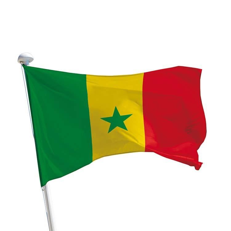 Drapeau Sénégal pour mât