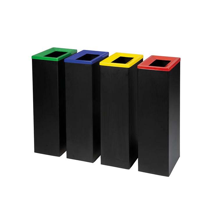 Corbeille Quadratri 4 couleurs