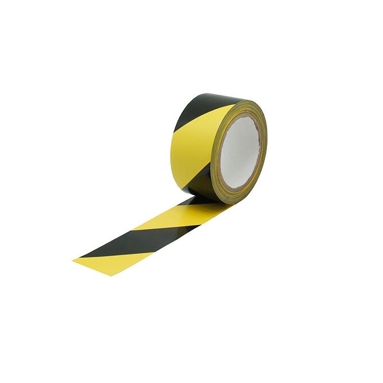 Ruban adhésif de marquage au sol jaune/noir